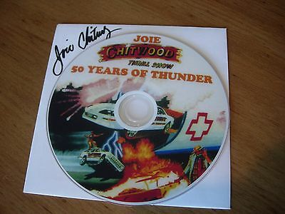 Joie Chitwood 48 MIN. DVD 50 YEARS OF THUNDER auto thrill show history stunts