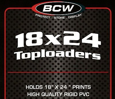60 New 18X24 Top Load Holders Protectors Print Poster Frame Toploaders