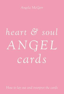 Heart and Soul Angel Cards by Angela McGerr Mixed media product Book The Cheap