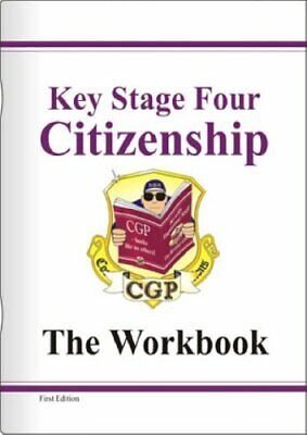 KS4 Citizenship Workbook (Revision & Practice) by CGP Books Paperback Book The
