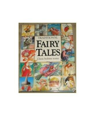 Traditional Fairy Tales: Classic Bedtime Stories Hardback Book The Cheap Fast