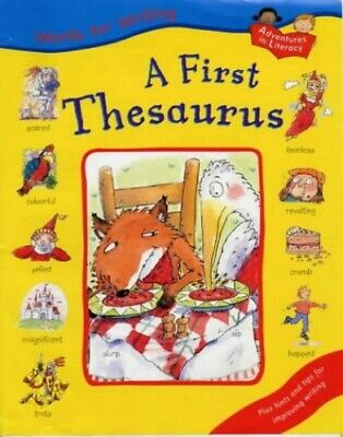 A First Thesaurus (Words for Writing) by Thomson, Ruth Hardback Book The Cheap