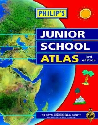 Philip's Junior School Atlas Paperback Book The Cheap Fast Free Post