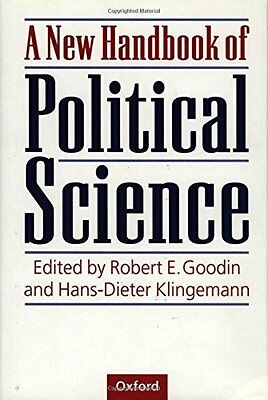 A New Handbook of Political Science Paperback Book The Cheap Fast Free Post