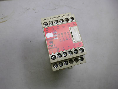 OMRON SAFETY RELAY - 24AC/DC - 3 x Safe + 1 x Aux - G9SA-301 - 5 amp contacts