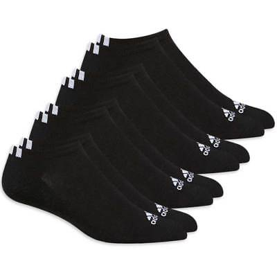 New Adidas Golf Low-Cut Golf Socks (4-Pack) - Choose Black or White!