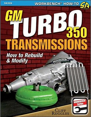 S-A Books How to Rebuild and Modify TH350 Transmissions Book P/N 326