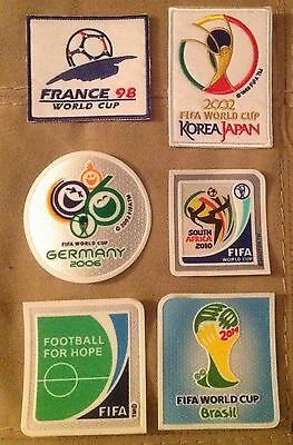 FIFA World Cup 1998-2014 Soccer Patch / Flock Football Badge