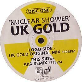 Uk Gold - Nuclear Shower (Disc One) - Tidy Trax - 1997 #30596