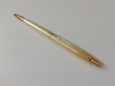 1960 18ct Solid Gold 750 Waterman ballpoint pen full 18k