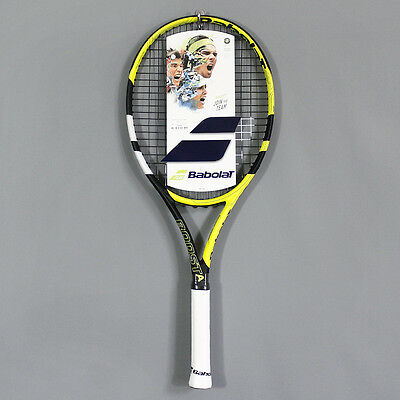 Babolat Boost Aero 105 Tennis Racket Yellow Black White