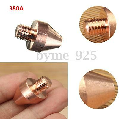 1/8'' Copper Electric For Spot Welding Flat Head Nut Straight Electrode 380 (A)