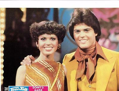 Donny and Marie Osmond teen magazine pinup clippings 70's Stars Donny Osmond