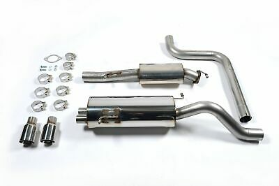 Milltek Sports Resonated (Quieter) Cat  Back Stainless Exhaust System - SSXFD099