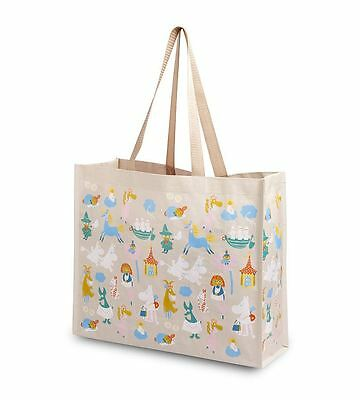 MOOMIN plastic shopping bag MOOMINVALLEY RESIDENTS