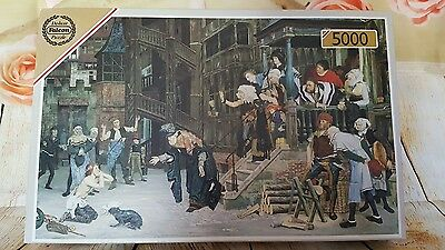 """FALCON 5000 PIECE Jigsaw Puzzle """"The Return of the Prodigal Son"""" Tissot RARE"""