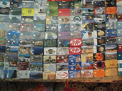 Greece Huge Lot Of 164 Different Phonecards Dummy: All Without Cn, Free Shipping
