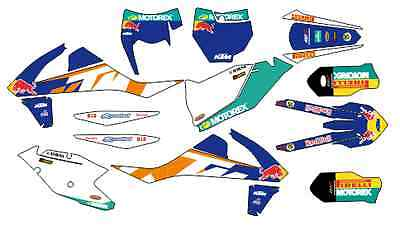 kit adhesivos ktm 2017, exc sx, sticker graphics, decals, pegatinas