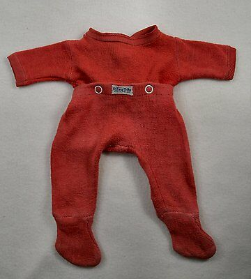 Vintage Red Nitey Nite Footed Pajamas, Dy-Dee, Tiny Tears, Baby Dolls