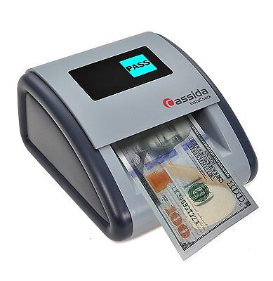 "Cassida Small Footprint ""Easy Read"" Automatic Counterfeit Detector, Instacheck"