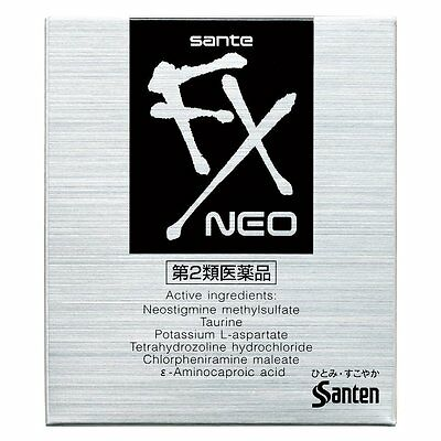 Sante FX Neo Cooling Eye Drops 12ml Santen from Japan