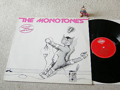 THE MONOTONES Same 1980 GER LP CNR 0060.338, inkl. Mono, Zero To Zero