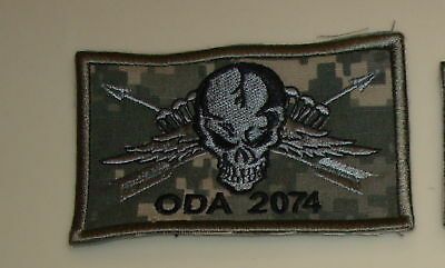 Special Forces Oda 2074 Team Pocket Patch,theater Made