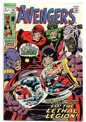 "The Avengers Silver Age Comic #79  August 1969 - ""lo: The Lethal Legion!"""