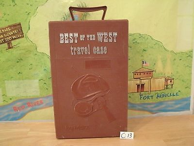Marx Johnny West Series- Best Of The West Travel Case ((  Rare )) Lot C 13