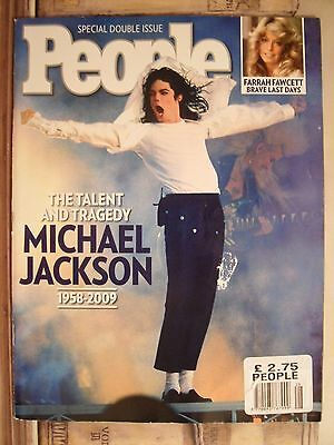Michael Jackson People Magazine 2009 double issue