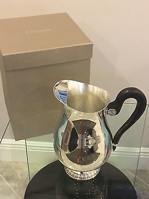 Look Gorgeous CHRISTOFLE Silver Malmaison Beauharnais Water Pitcher