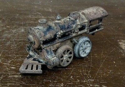 Vintage Cast Iron Toy Train Engine Collectible Antique