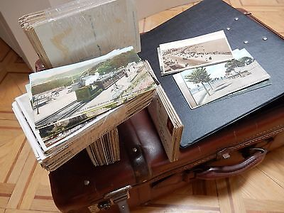 500 + postcards EMPTY ALBUMS PRINTS TO FRAME EPHEMERA A REAL JOB LOT