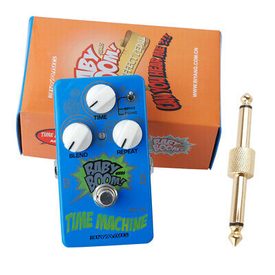 Biyang BABY BOOM AD-10 Analog Delay Time Machine Guitar Pedal & Free Connector