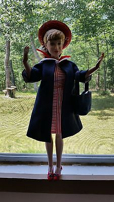 Tonner Janet Lennon Doll In Red , White , And Blue Outfit