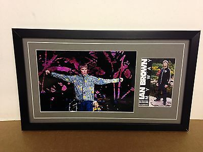 Ian Brown (Stone Roses) Hand Signed/Autographed Card with Photo & COA