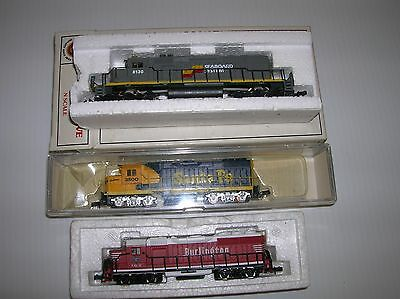 "Bachmann N Scale ""Seaboard SD40"" ( tested)diesel & 2 for parts lot # 11211"