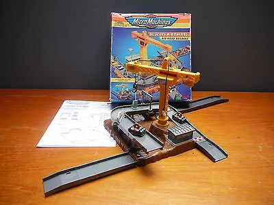 Micro Machines Hiways and Byways Ace Road Builders good boxed