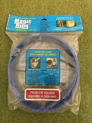 Magic Ring Paper Yard Waste Bag Opener And Support