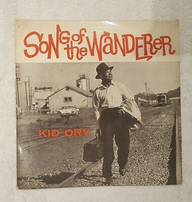 KID ORY Song Of The Wanderer Ex+ World Records UK 1960s LP