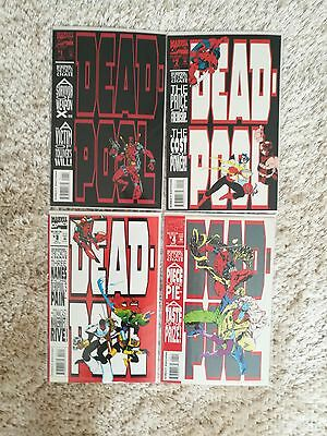 Deadpool: The Circle Chase #1-4 Complete set (Limited Series) 1993 VF/NM