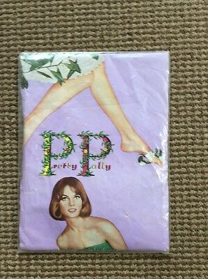 """Vintage Pretty Polly Stockings Pirate Gold Foot Size 10 1/2"""" - 11"""""""