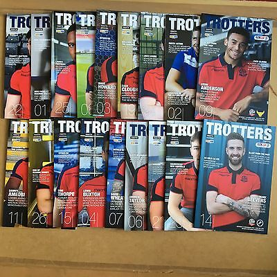 2016/17 - Various Bolton Wanderers Home Programmes Choose From List