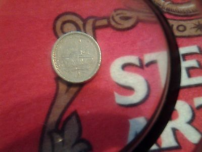1994 One Pound £1 Coin Gibraltar 40th Anniversary 1st Royal Visit QEII Rare