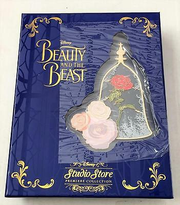 Disney DSSH DSF Beauty and The Beast Trading Event Jumbo Rose LE 150 Pin