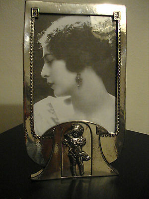 Superb Rare Original Art Nouveau ,secessionist Wmf , Marked Photo Frame