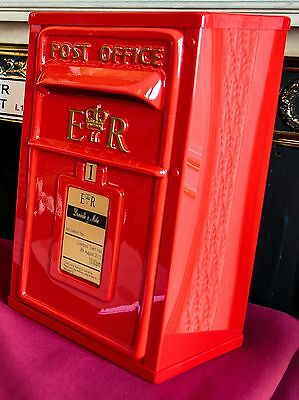 ��Wedding Card Post Box��Handmade and personalised� Available in Red or White���