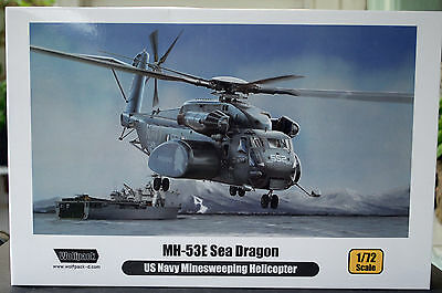 MH - 53 E Sea Dragon US Minesweeping Helicopter, 1:72, Wolfpack 17206