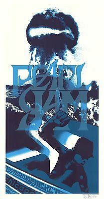 MINT Pearl Jam Chicago 2006 Klausen SIGNED A/P Poster 45/100