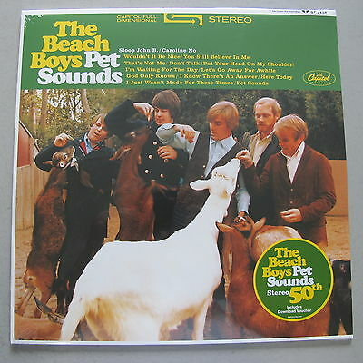 THE BEACH BOYS - Pet Sounds ***Stereo Vinyl-LP + MP3***NEW***sealed***